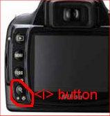 <i> button on Nikon D40
