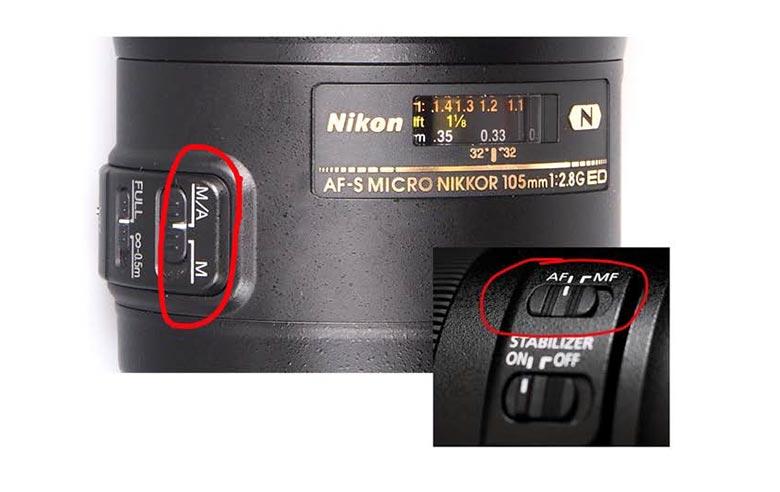 Lens auto focus function.