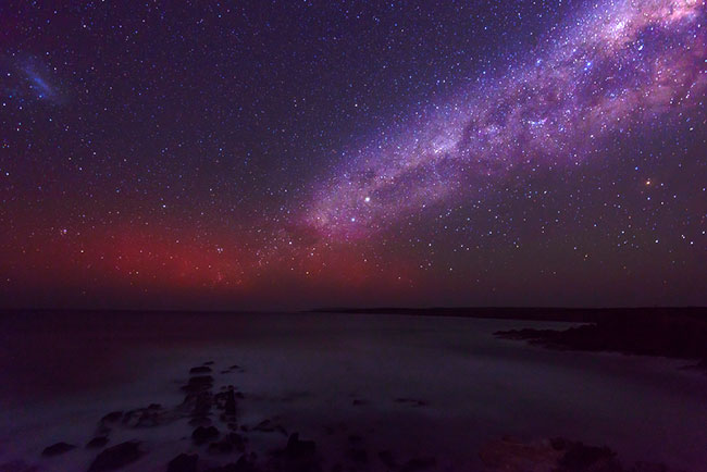 example photo of milky way and stars