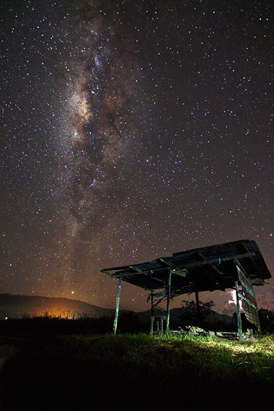 example photo photograph the milky way and stars