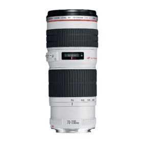 white Canon lens