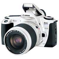 white Canon camera body