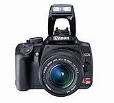 Canon 400D digital SLR camera