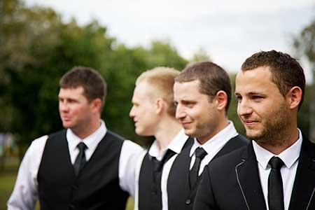photo of groom