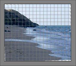 fix crooked horizon in Photoshop