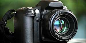 Digital SLR camera metering modes