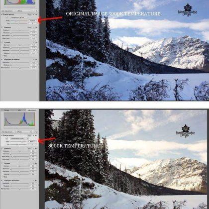 Why Are Snow Photos Blue?