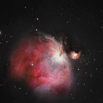 Photographing Great Orion Nebula