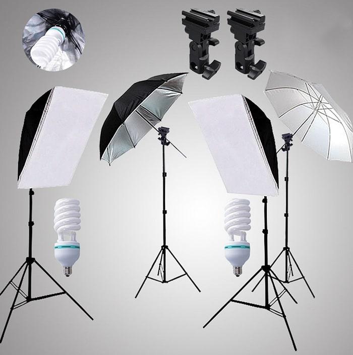 Beginners home lighting kit.