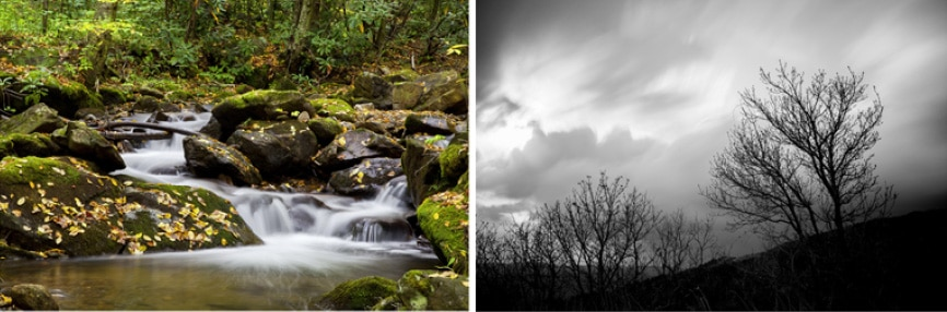 Long exposures images 1