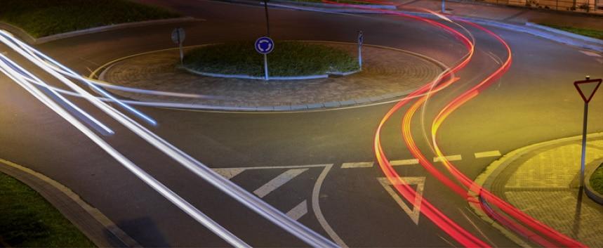 Car trails image