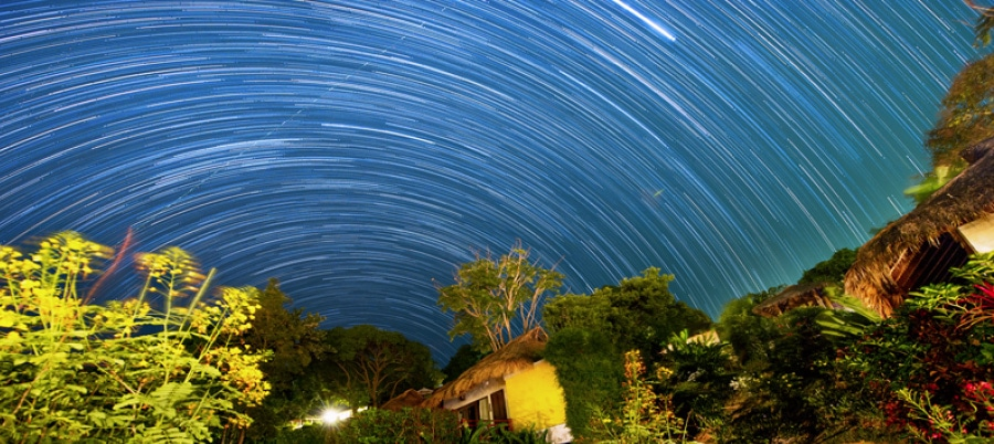 Star trails image 2