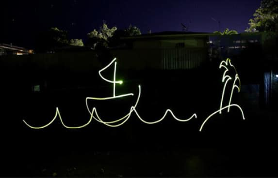 Light painting image 2