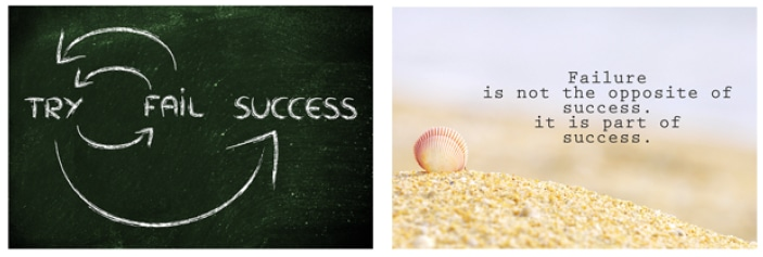 Success is doing.