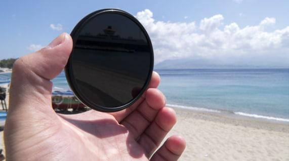 Circular lens filter
